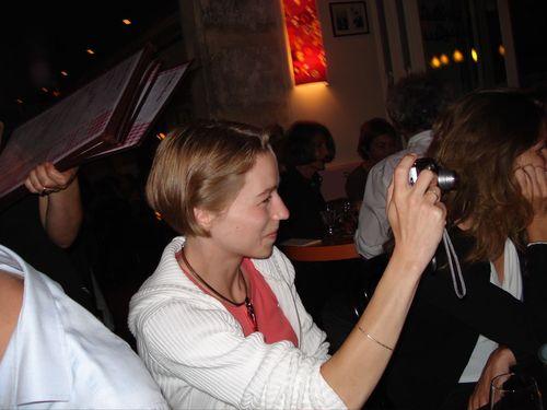 Diner de bloggers autour d'une hollandaise