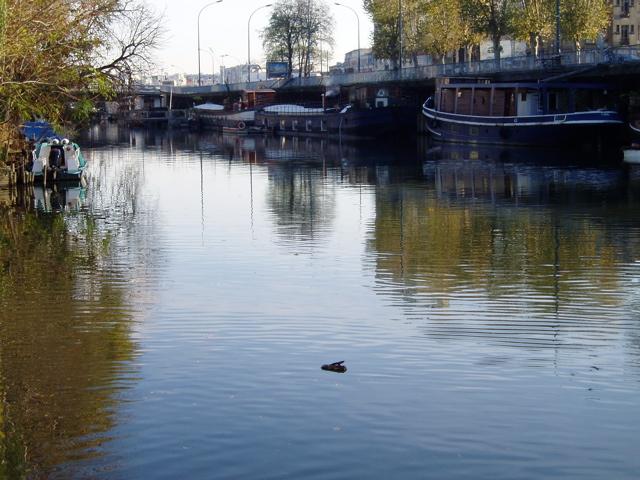 Quai de Seine sur l'Ile Saint Germain